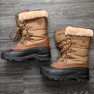 Kamik winter boots, women's size 9